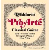 Струны для классической гитары D'Addario EJ45 Pro-Arte Normal Tension