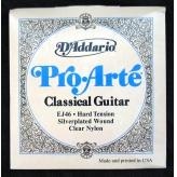 Струны для классической гитары D'Addario EJ46 Pro-Arte Hard Tension