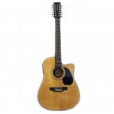 Акустическая гитара Harley Benton HBD200-12 NT 12-ти струнная эстрадная