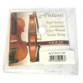 Струны для скрипки Antoni AVS011F 4\4,3\4