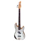 Бас гитара Apollo DPB-350 Met Grey