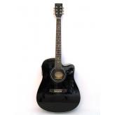 Электроакустическая гитара Harley Benton HBD120 CE BK эстрадная