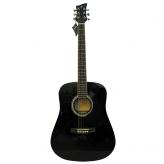 Электроакустическая гитара Jay Turser JJ-45-EQ BK