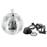 Зеркальный шар Eurolite Mirrorball set 20cm with LED spot