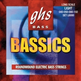 Струны для бас-гитары GHS Strings Bass Bassics