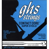 Струны для бас-гитары GHS Strings Bass Contact Core Super Steels