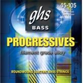 Струны для бас-гитары GHS Strings Bass Progressives