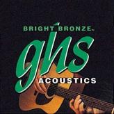 Струны для акустической 12-ти струнной гитары GHS Strings Bright Bronze BB60X