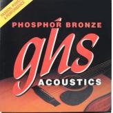 Струны для акустической 12-ти струнной гитары GHS Strings Phosphore Bronze set 605