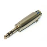 Переходник Omnitronic Adapter XLR socket\jack plug stereo