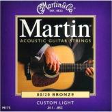 Струны для акустической гитары Martin M175