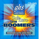 Струны для электрогитары GHS Strings Sub-zero Boomers