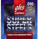 Струны для электрогитары GHS Strings Super Steels